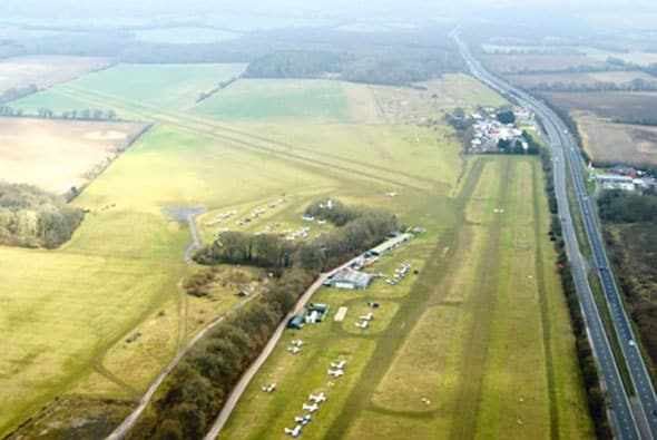 Microlight Trade Fair at Popham Airfield - McGregor Hangars
