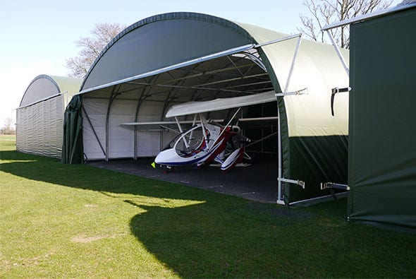Light Aircraft Hangar - McGregor Hangars - Video of Hangar