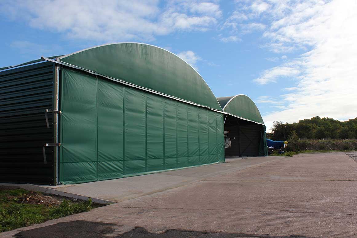 Multibay Hangar - McGregor Hangars - Tatenhill Aviation